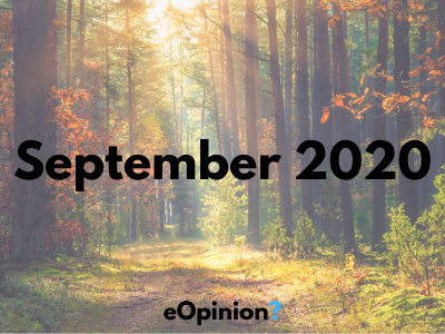 September 2020 Daily eOpinion Results