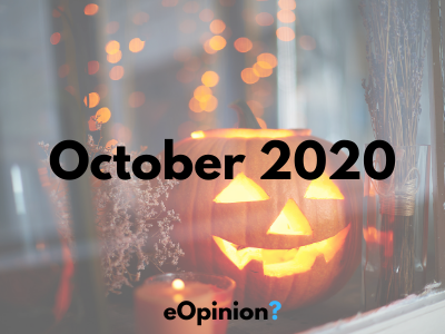 October 2020 Daily eOpinion Results