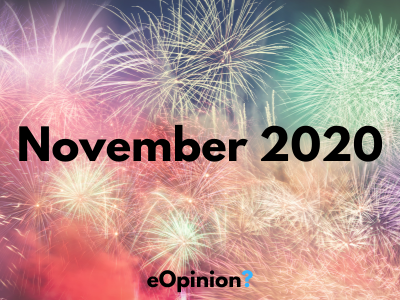 November 2020 Daily eOpinion Results