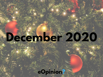 December 2020 Daily eOpinion Results