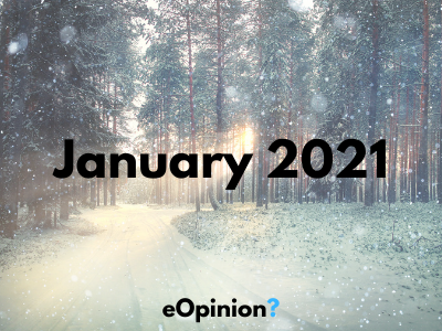 January 2021 Daily eOpinion Results