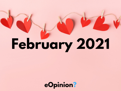 February 2021 Daily eOpinion Results