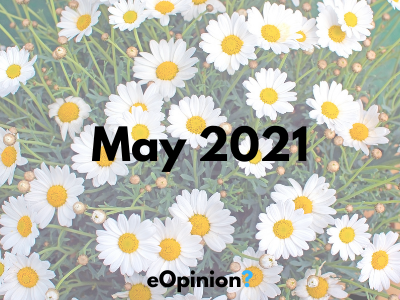 May 2021 Daily eOpinion Results