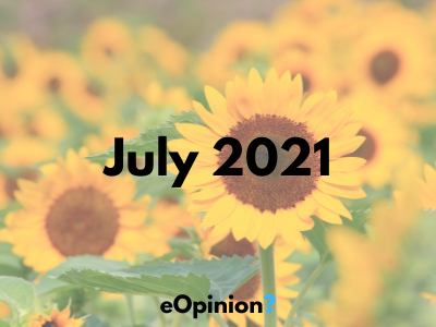 July 2021 Daily eOpinion Results